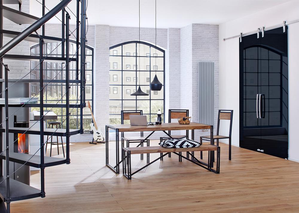 Top Wohnen wie im Loft: Einrichtung im Industrial Style | Design Wohnideen BH26