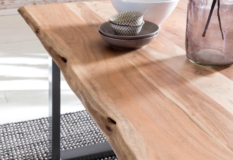 Baumkantentische Massivholz Tisch Tipps zur Pflege | SalesFever Design Wohnideen
