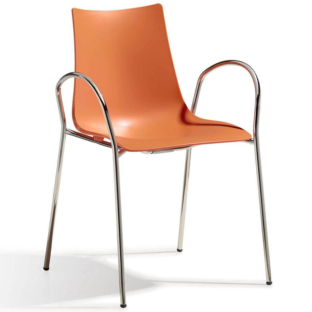 Designer Stuhl ZEBRA 4 Legs